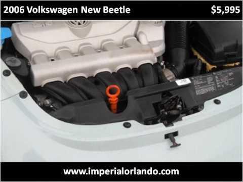 2006 Volkswagen New Beetle Used Cars Orlando FL
