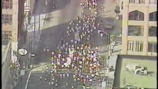 the race BEGINS - 1989 BAY to BREAKERS in San Francisco ( 100,000 runners !!! )