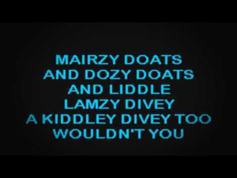 SC2038 05   Pied Pipers   Mairzy Doats [karaoke]