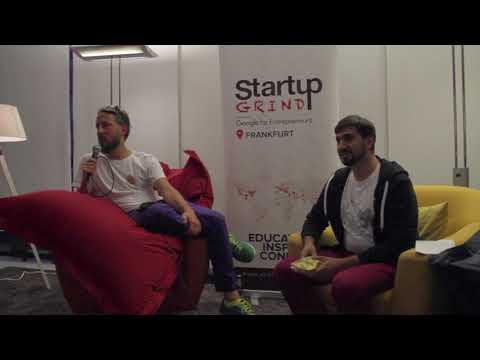 Philip Siefer (einhorn) at Startup Grind Frankfurt