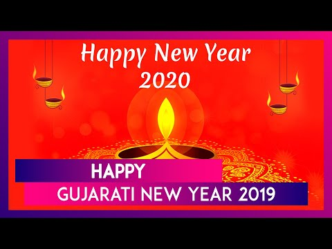 happy gujarati new year 2019 images hd wallpapers for free download online wish nutan varshabhinandan with whatsapp stickers and vikram samvat 2076 greetings latestly newsdog