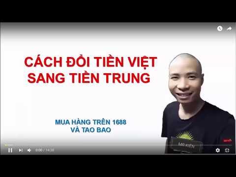 Hướng Dẫn đổi Tiền Trung Sang Tiền Việt Cùng Ship Hang Alibaba .com