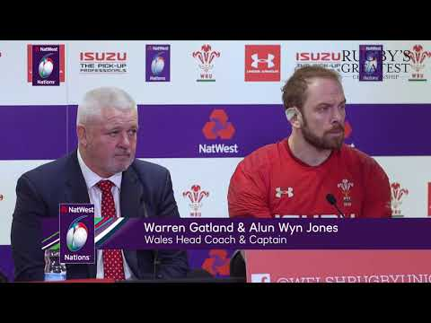 Press Conference: Warren Gatland and Alun Wyn Jones after win over France | NatWest 6 Nations