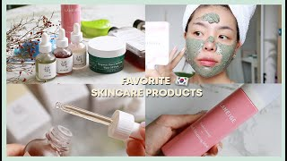 MY 5 RECENT FAVORITE SKINCARE PRODUCTS 💚 | Erna Limdaugh