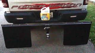 Video Homemade stone guard to protect the front of the trailer|diy mud flaps for your truck download MP3, 3GP, MP4, WEBM, AVI, FLV Juli 2018