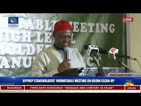 Hyprep Stakeholder's Roundtable Meeting On Ogoni Clean-Up Pt.5 |Live Event|