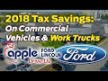 Your Business Could Be Eligible for Tax Incentives When You Purchase Ford Vehicles
