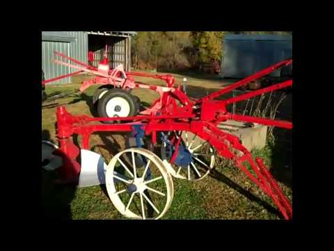 Amazing Collection of Antique International Harvester Plows