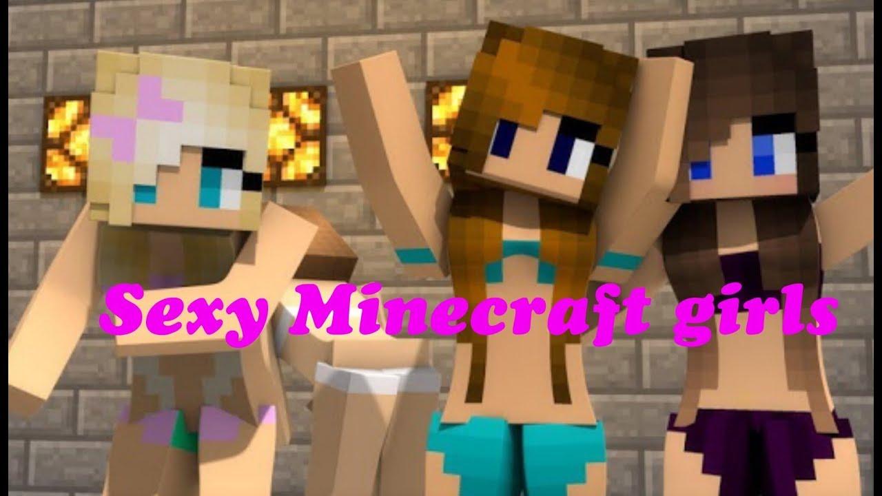 HOT MINECRAFT GIRLS (clickbait) - YouTube