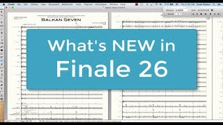 Finale 26: Review & What's New