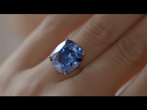 The story behind the Blue Moon Diamond | Priceless Pieces