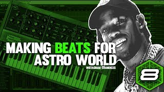 Making Beats for Travis Scott's Astroworld | Mixcraft 8 Tutorial