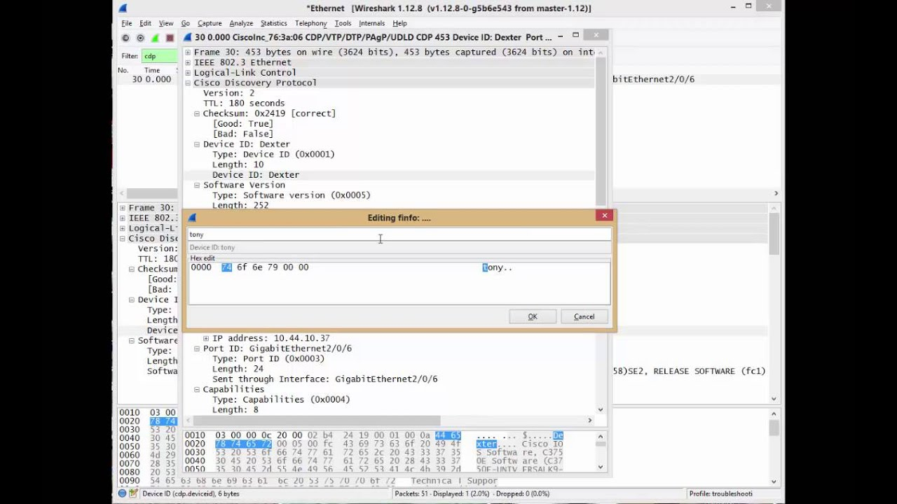 Wireshark: Editing A Packet | IT Infrastructure Advice