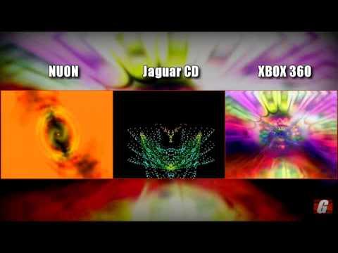 Side-by-Side: Jeff Minter's Visualizers (NUON + Jaguar CD + XBOX 360)