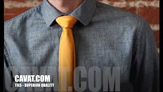 Cách thắt cà vạt kiểu đảo ngược độc đáo - Cavat.com