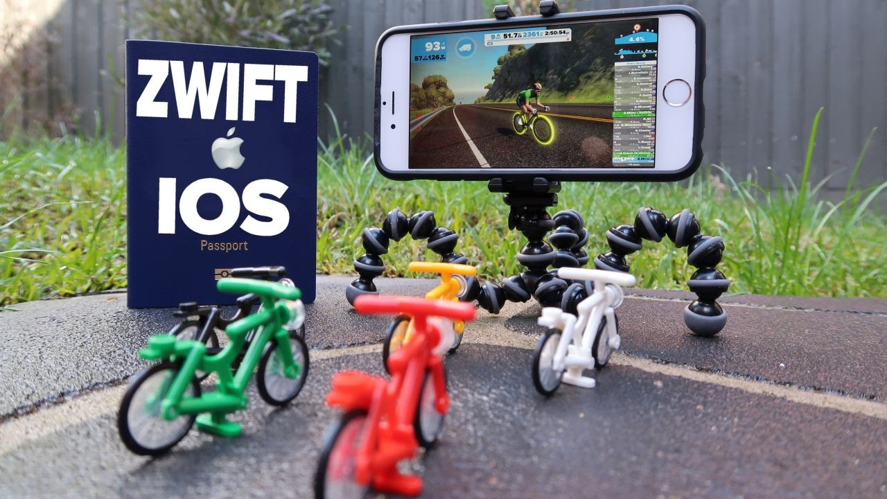 Zwift launches on iPad and iPhone! (ZwiftIOS)