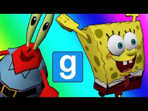Gmod Hide and Seek - Spongebob Edition! (Garrys Mod)