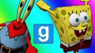 Gmod Hide and Seek - Spongebob Edition! (Garry's Mod)