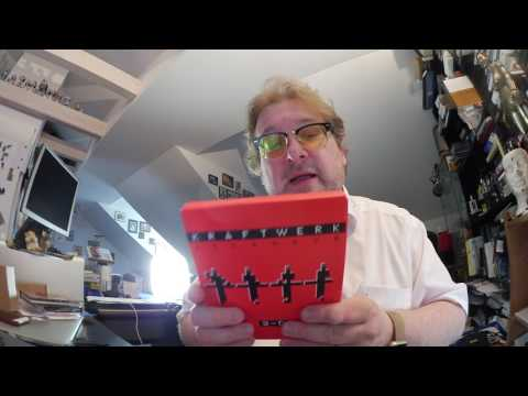 Unboxing Kraftwerk 3D-Katalog CD und Blu ray