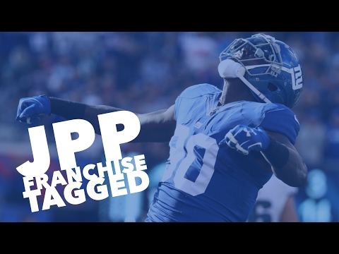 New York Giants use franchise tag on JPP