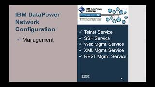 Play DataPower Network Management Services Configuration