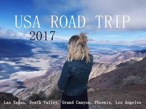 USA - SOUTHWEST ROAD TRIP 2017 (Vegas, Grand Canyon, LA etc)