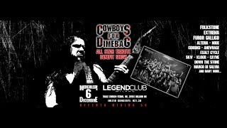 COWBOYS FOR DIMEBAG 06 12 2017 Legend Club Milano