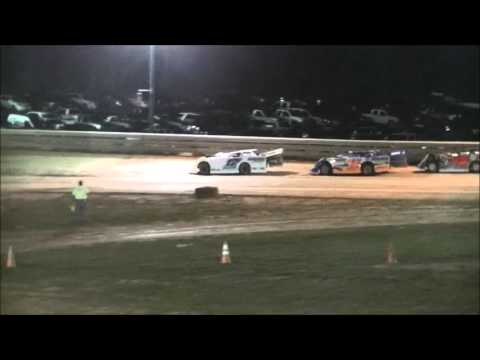 Ohio Valley Speedway Gibbys Late Model Heat 1   9-26-15
