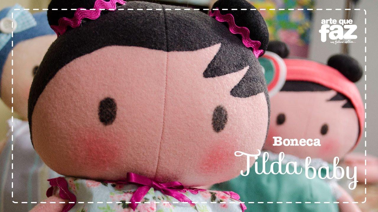 Boneca Tilda Baby Vera Portela Youtube