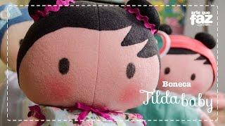 Boneca Tilda Baby  por Vera Portela