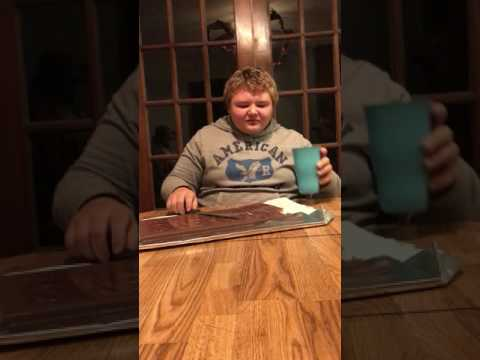 Wildfire 3lb Hershey bar Challenge fail