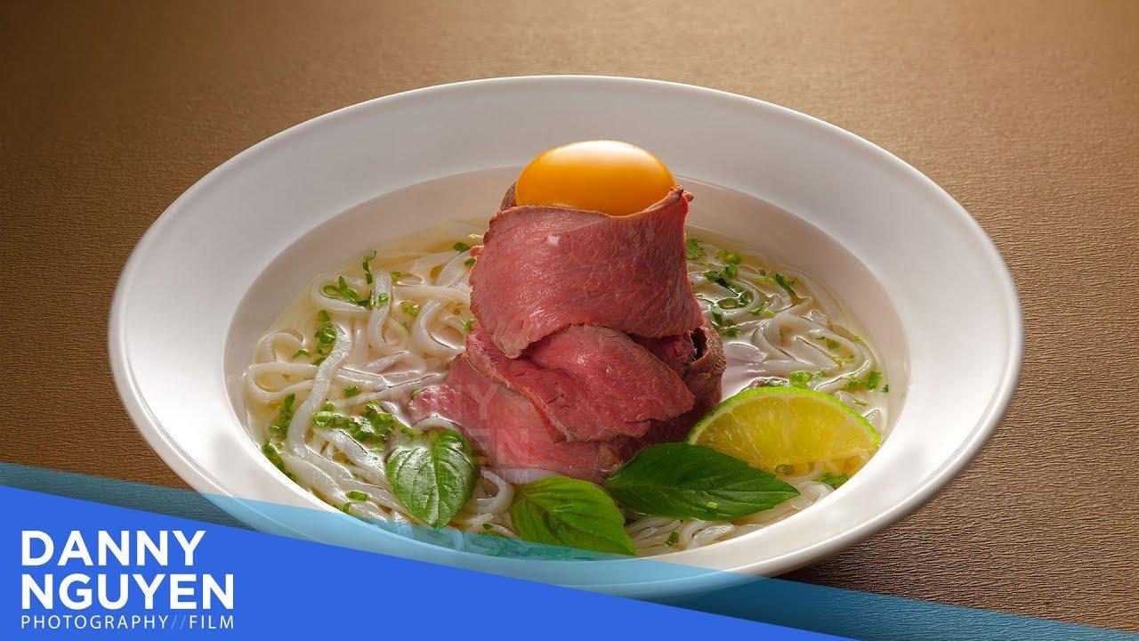 Setup ánh sáng chụp ảnh món ăn Fine Dining Food Photography với 2 đèn Profoto cùng Danny Nguyen