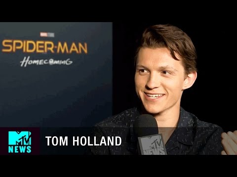 Tom Holland is Just as Excited as Fans for the New 'Spider-Man: Homecoming' Trailer | MTV News