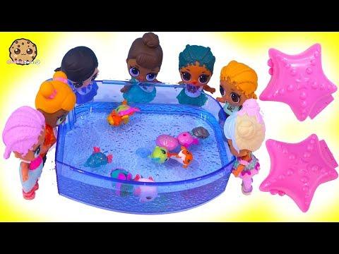 Strange Aquarium ! LOL Surprise Punk Boi Summer Series Part 1