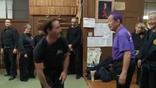 Advanced Budo Taijutsu With Ninja Grandmaster Masaaki Hatsumi Sensei of Bujinkan Ninjutsu