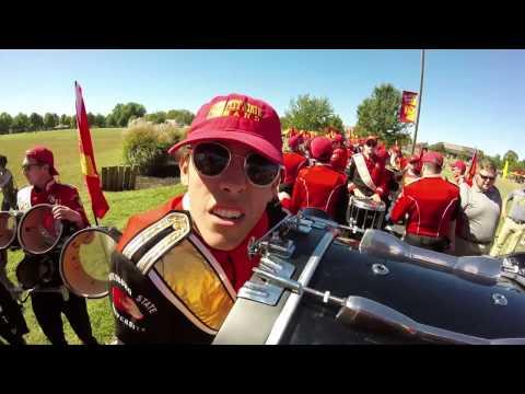 Pitt State Drumline Compilation - 2016