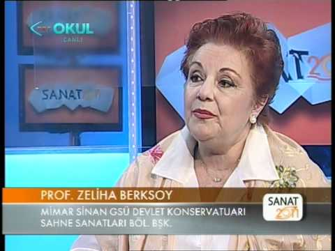 Sanat 2011, 3.6, Konuk: Zeliha Berksoy, 2. Kısım