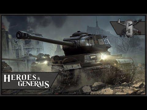 IS-2 Stronk King Tiger Killer - Heroes and Generals - Soviet Tanker Gameplay