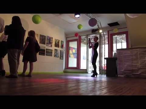 Pop Up Art Gallery Show Princeton West Virginia