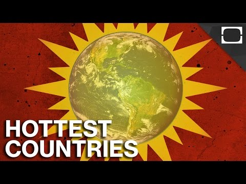 What Are The World's Hottest Countries?
