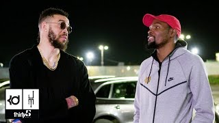 "JaVale McGee's Parking Lot Chronicles Episode 10: Kevin Durant & ""Guest"" Andre Iguodala"
