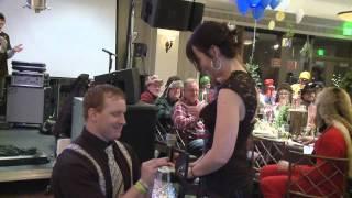 Proposal at Hope Lives Foundation Gala