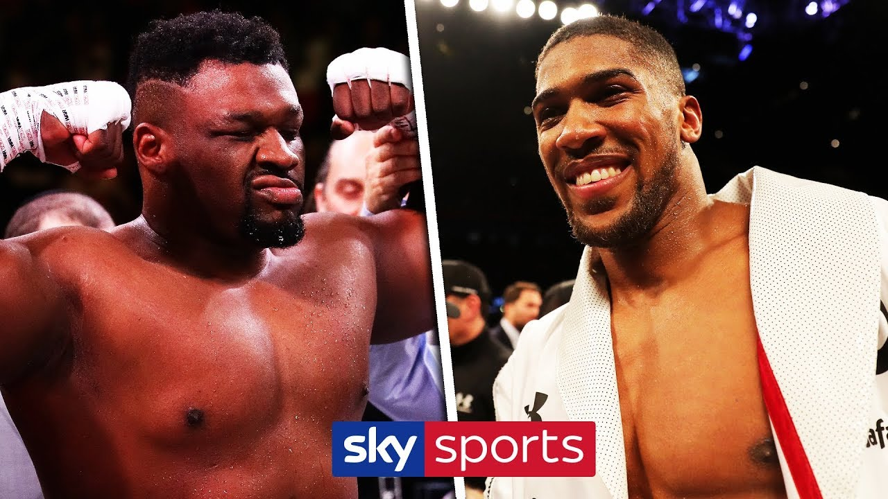 Anthony Joshua, Jarrell Miller trade barbs in fiery press conference