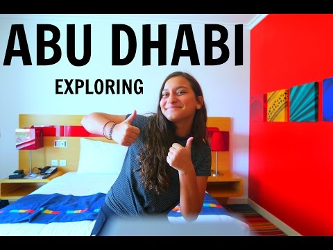 EXPLORING ABU DHABI FOR THE FIRST TIME FT YOUKI