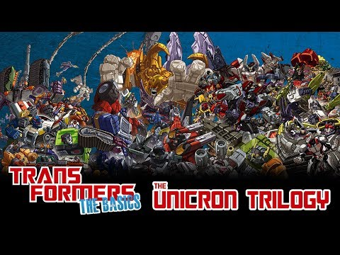 TRANSFORMERS: THE BASICS on the UNICRON TRILOGY