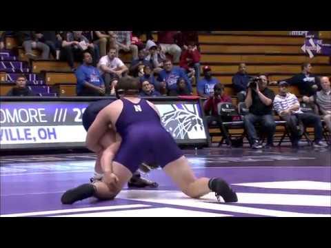 Wrestling - Conan Jennings Pin vs. Michigan (1/22/17)