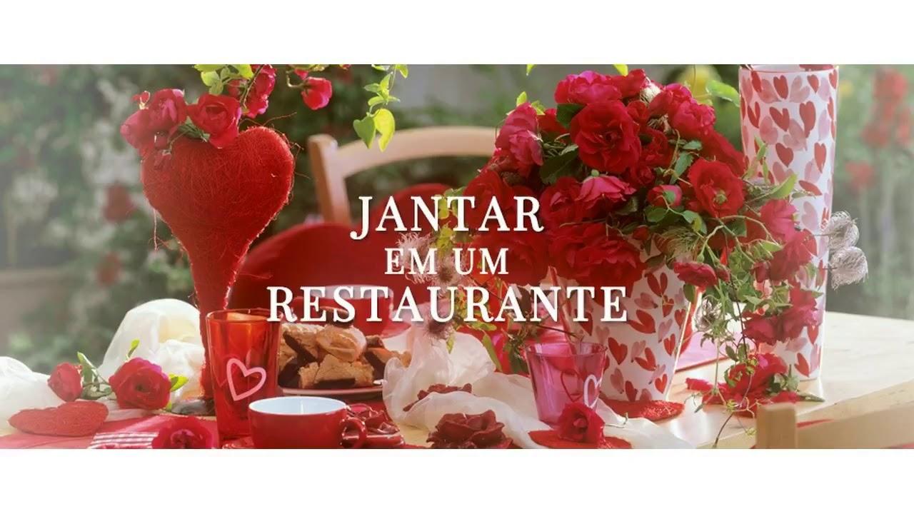 Decoraç u00e3o Dia Dos Namorados Restaurantes YouTube -> Decoração De Restaurante Para Dia Dos Namorados