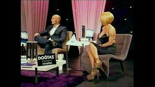 Nada Djukić Blondi with long nails + high heels