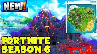 Fortnite Season 6 UPDATE LEAKED... (Map Changes & All NEW Leaks)