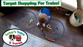 Target Shopping for Trains & Cars! Toy Trains for Kids! POWER TRAINS 2.0